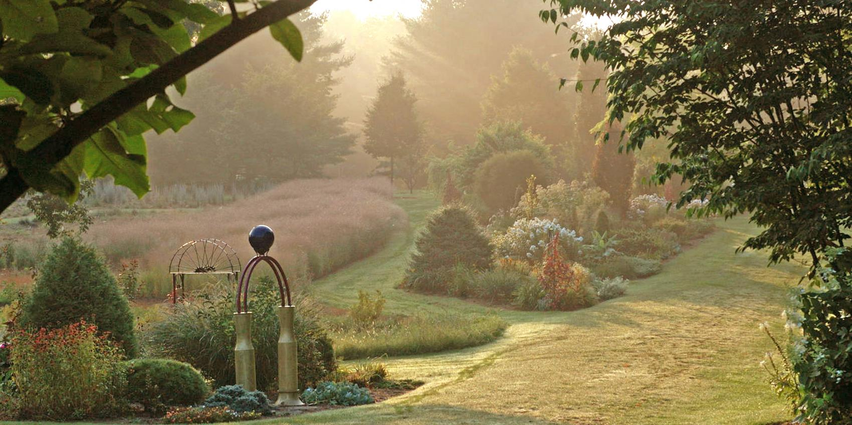 Luxury Japanese Tea Garden Hours Illustration - Brown Nature Garden ...