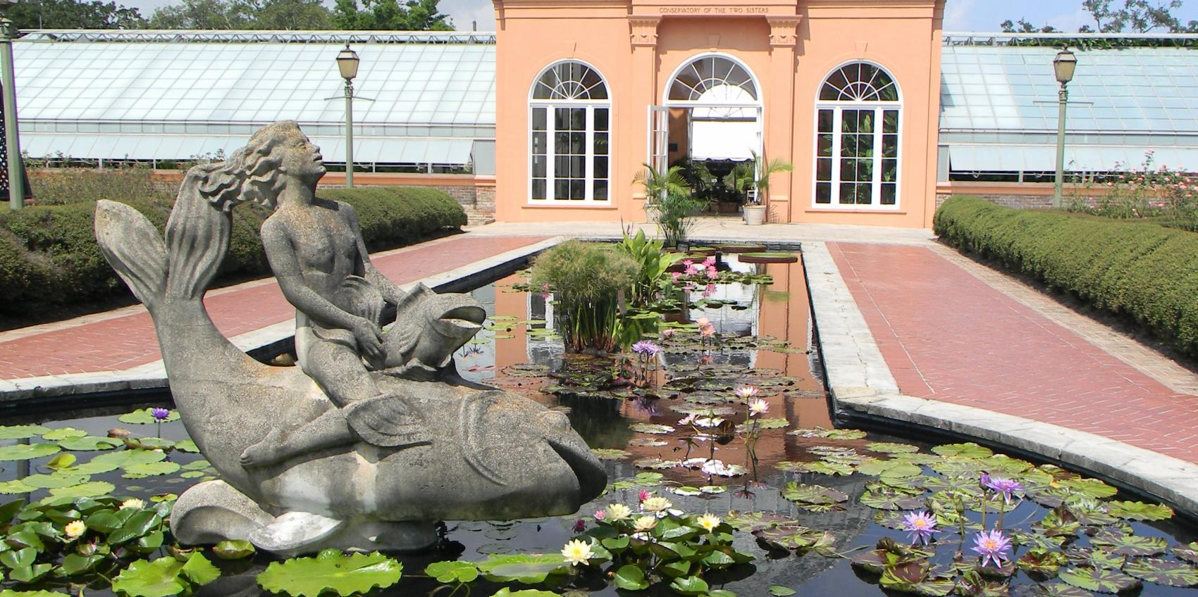 The New Orleans Botanical Garden Has Its Roots In The Great Depression As A  Project Of The Works Progress Administration (WPA).