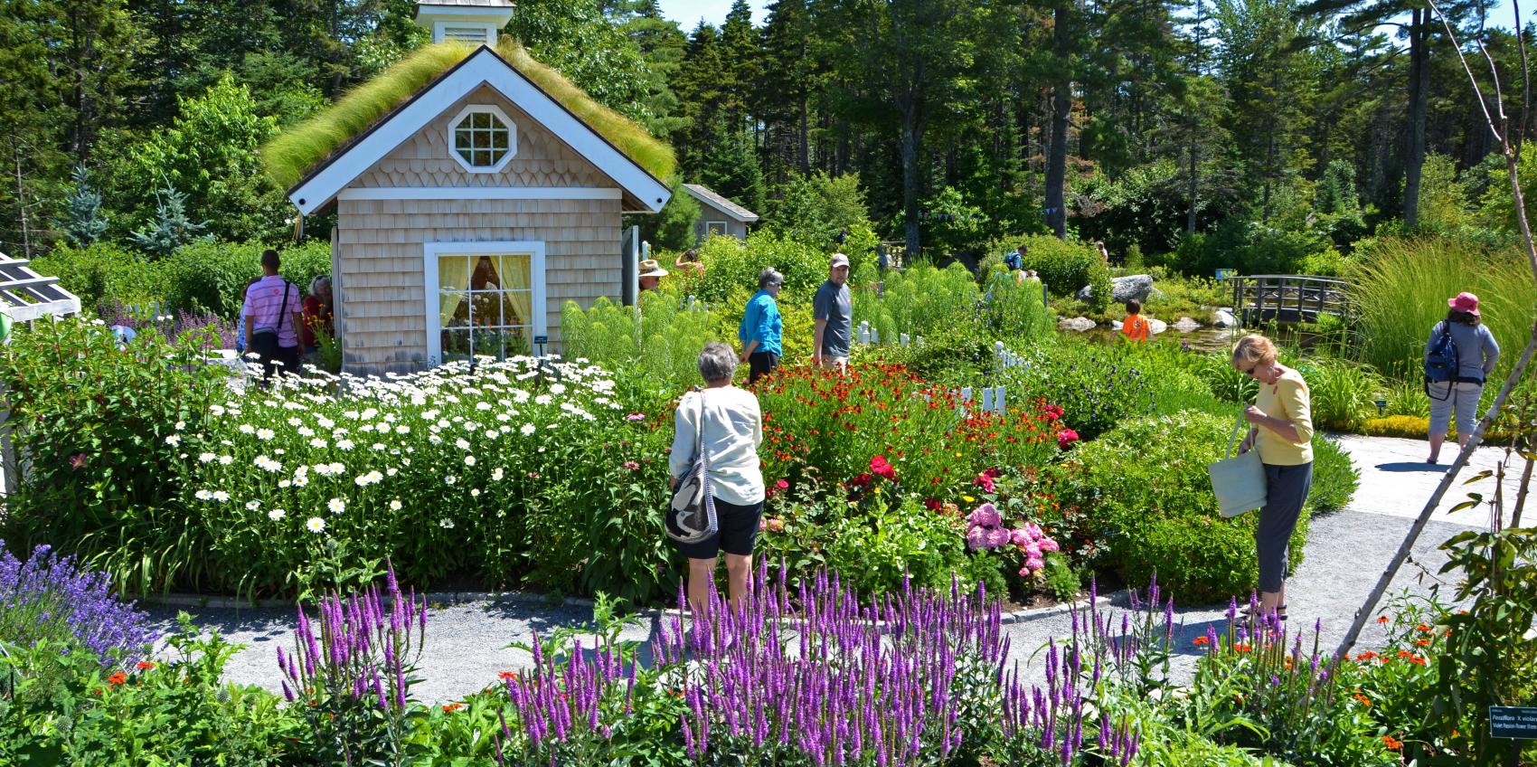 Coastal Maine Botanical Gardens, Located On Nearly 300 Acres Of Coastal  Waterfront, Is The Largest Botanical Garden In New England And One Of The  Nationu0027s ...