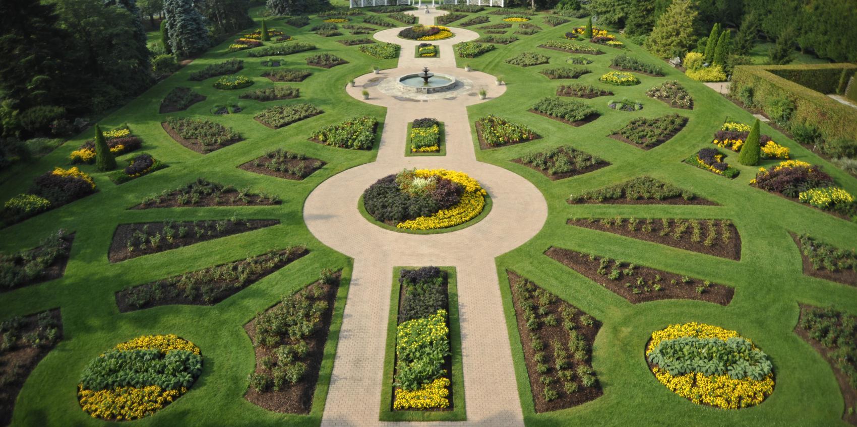 Niagara parks botanical gardens butterfly conservatory for American garden association