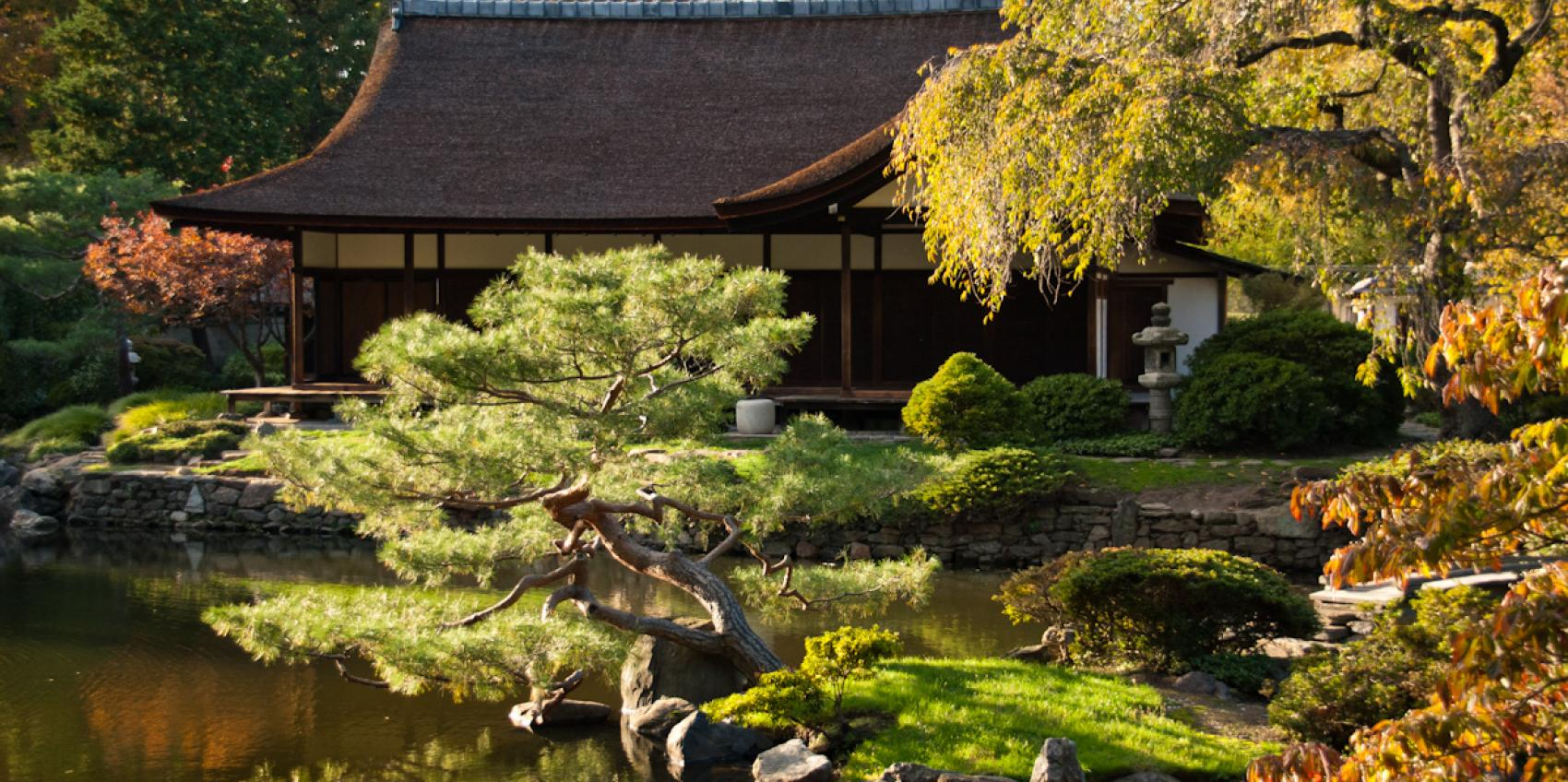 Image gallery japanese house for Japanese style garden house