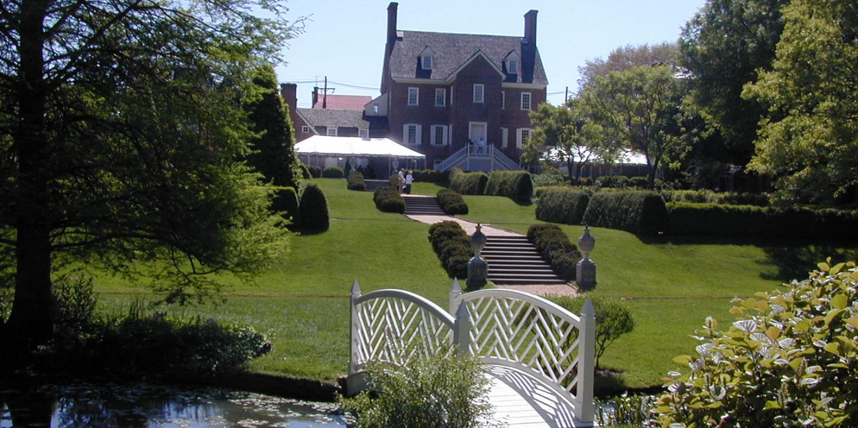 The William Paca Garden Is A Division Of Historic Annapolis Inc. The Garden  Is A 2 Acre Reconstruction Of A Garden Established In 1765 By One Of  Marylandu0027s ...