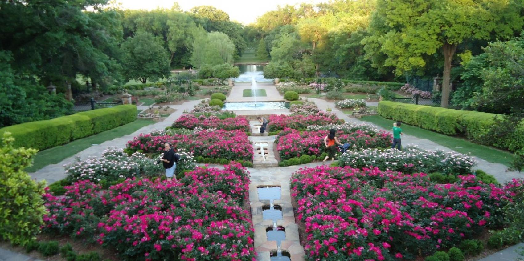 Fort worth botanic garden american public gardens for American garden association