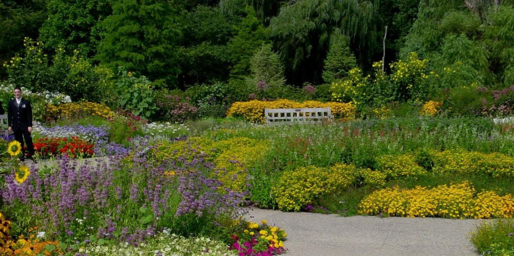 Superbe The University Of Michigan Matthaei Botanical Gardens U0026 Nichols Arboretum  Is Nearly 800 Acres And Includes A Year Round Conservatory, Display Gardens,  ...
