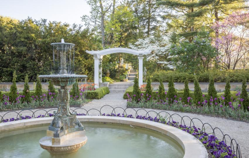 The Richard D. Wood Formal Garden