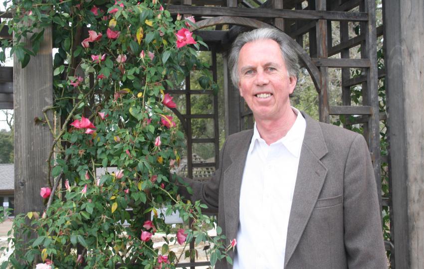 William A. McNamara, President and Executive Director of Quarryhill Botanical Garden