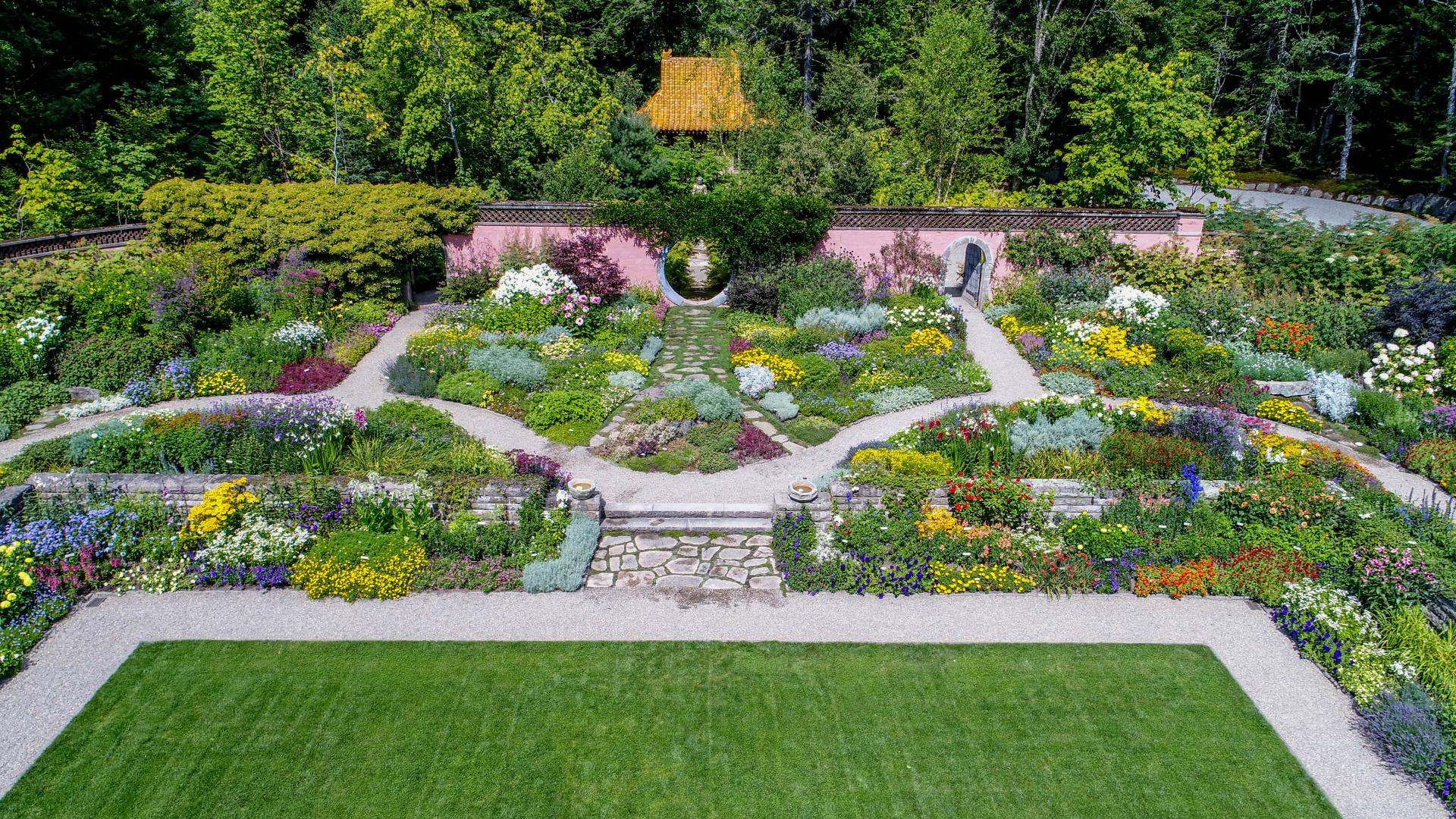 Rockefeller Legacy Continues Preservation Of Abby Aldrich Rockefeller Garden American Public