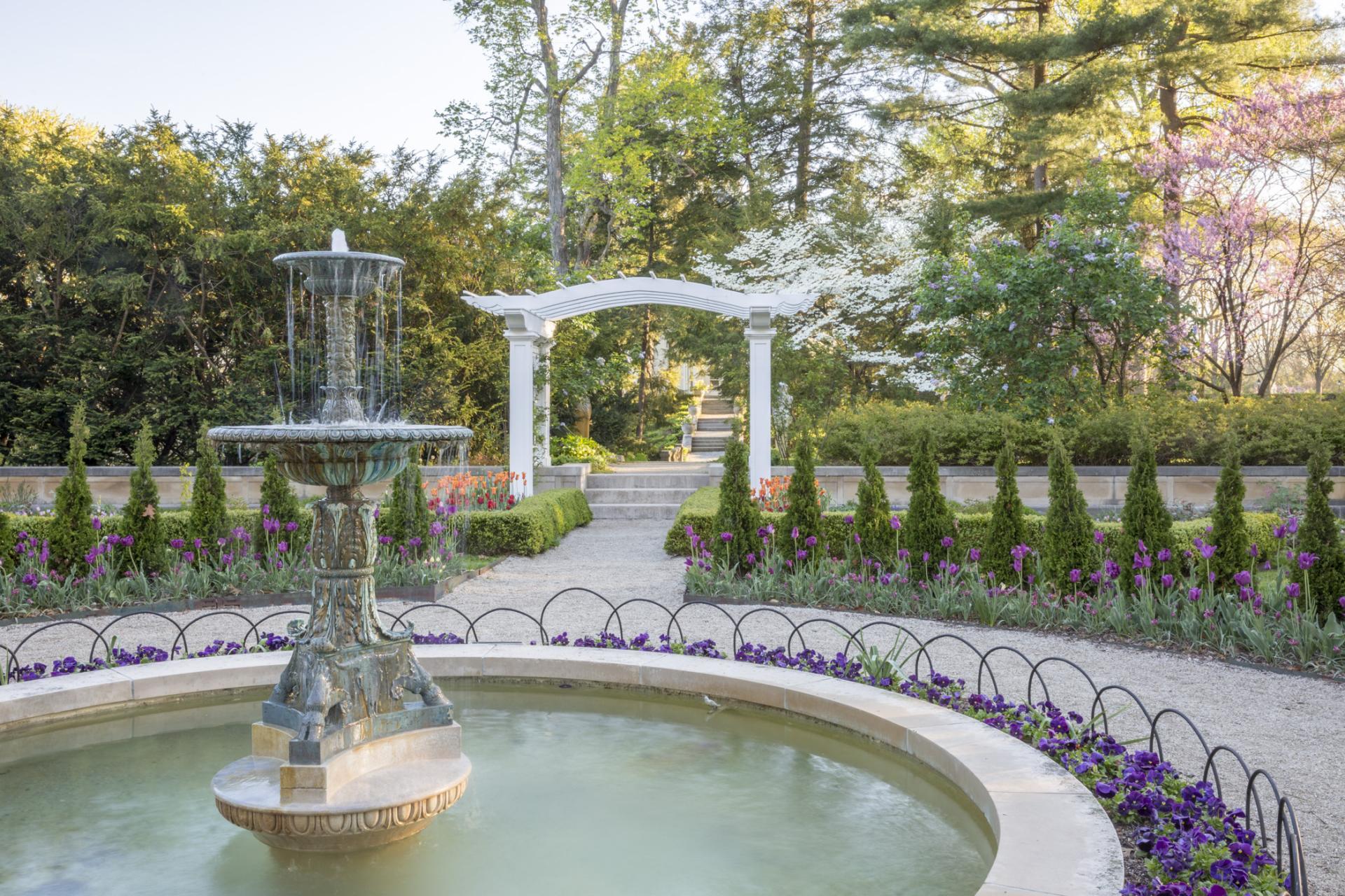 The Richard D. Wood Formal Garden