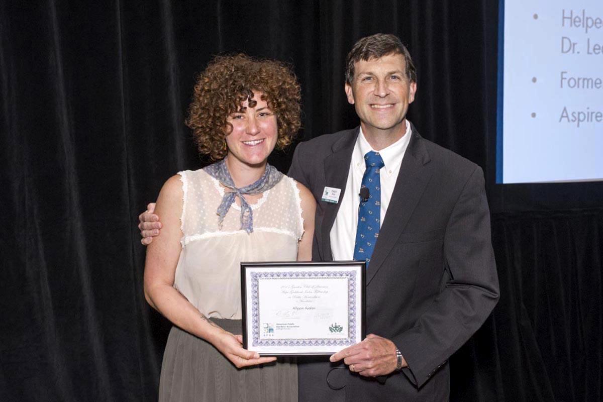 allyson ayalon and dr casey sclar executive director american public gardens association - The Garden Fellowship