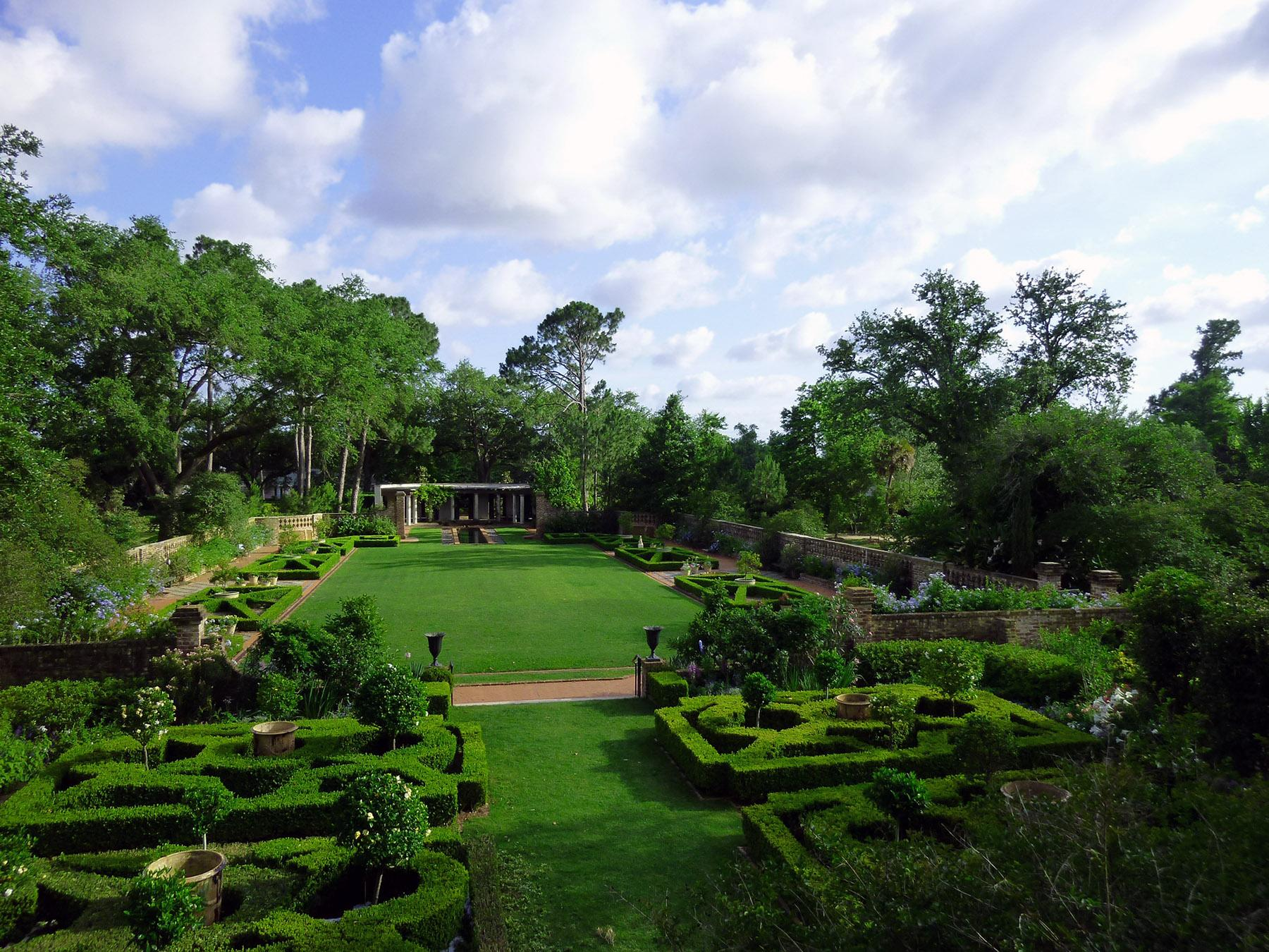 Longue vue named in the top ten north american gardens for American garden association