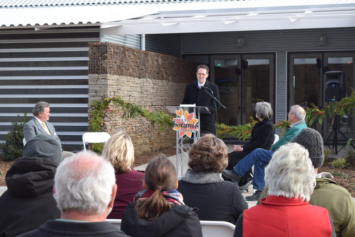 tulsa botanic garden celebrates opening of je and le mabee grange - Tulsa Botanic Garden