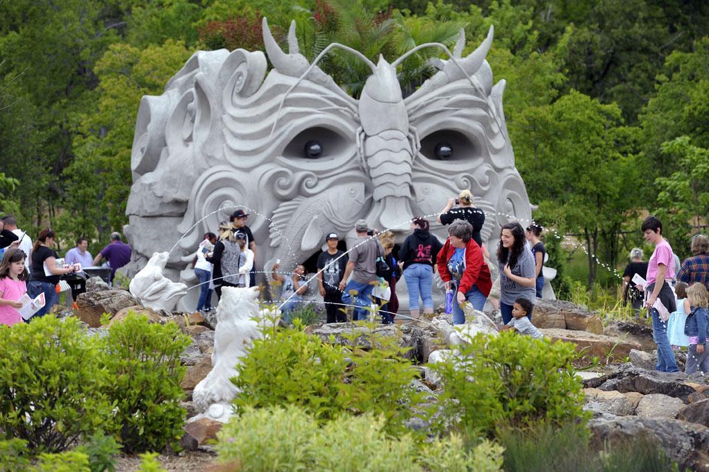 tulsa botanic childrens garden - Tulsa Botanic Garden
