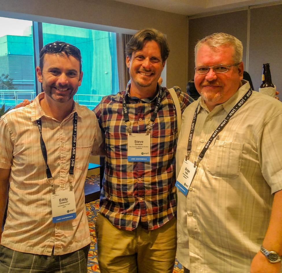 Association Members Gathered for a Successful 3-day Esri GIS ...